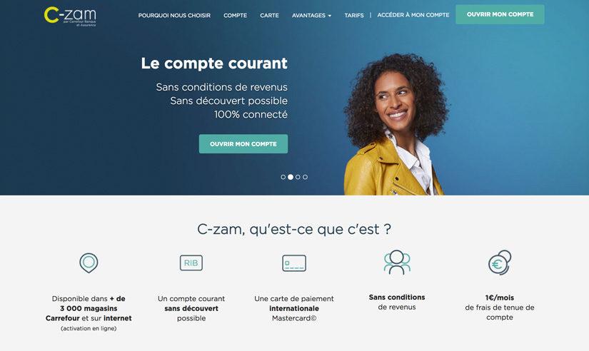Carrefour enregistre un beau succès avec son compte C-Zam